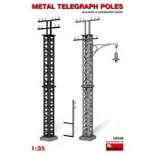 METAL TELEGRAPH POLES E1/35