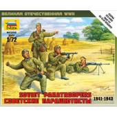 PARACAIDISTAS SOVIETICOS  1941-1943 E1/72