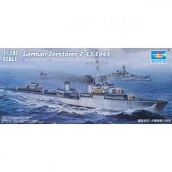 GERMAN ZERSTORER Z-42 1944 E1/700