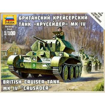 CRUSADER TANQUE BRITANICO MK IV E1/100