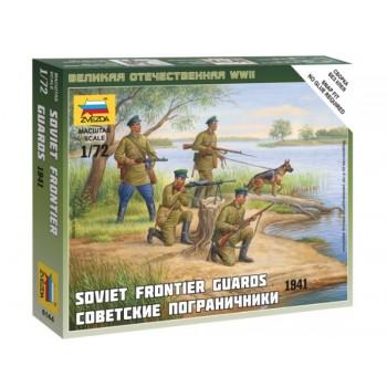 INFANTERIA SOVIETICA - GUARDIA FRONTERIZA WWII E1/72
