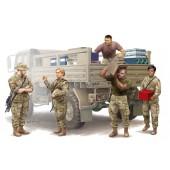 SOLDADOS MODERNOS U.S. (Logistics Supply Team) E1/35