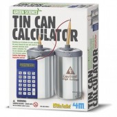 KIT TIN CAN CALCULADORA (CIENCIA VERDE)