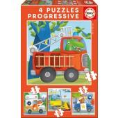 PUZZLES PROGRESIVOS PATRULLA DE RESCATE 6+9+12+16