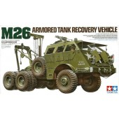 M26 ARMORED TANK RECOVERY VEHICLE E1/35