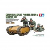 German Assault Pioneer Team & Goliath Set E1/35