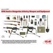 AUSTRO-HUNGARIAN INFANTRY WEAPON AND EQUIPMENT WWI E1/35