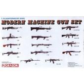 MODERN MACHINE GUN SET E1/35