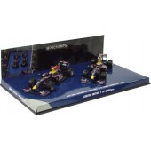 RED BULL RACING RENAULT RB5 1-2 FINISH CHINESE GP 2009 E1/43