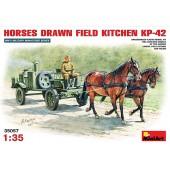HORSES DRAWN FIELD KITCHEN KP-42 E1/35