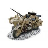 MOTOCICLETA MILITAR ALEMANA CON SIDECAR E1/9