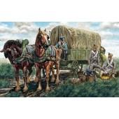 TREN DE EQUIPAJES REGIMENTAL FRANCES 1805 E1/72