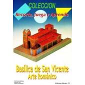 RECORTABLE BASILICA SAN VICENTE ARTE ROMANICO