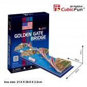 PUENTE GOLDEN GATE U.S.A. - 20 PIEZAS