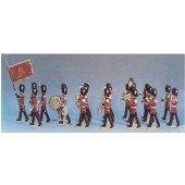 BANDA DE MÚSICA GUARDIA REAL INGLESA-54mm (20 Figuras)