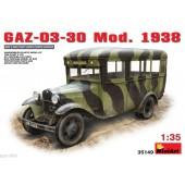 AUTOBUS SOVIETICO GAZ-03-30 Mod. 1938 E1/35