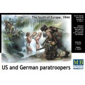 US AND GERMAN PARATROOPERS E1/35
