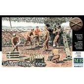 US ARTILLERY CREW E1/35