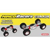 NINCORACERS ESCALATOR (Vehículo adaptable en longitud y altura con un solo botón)