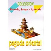 RECORTABLE PAGODA ORIENTAL