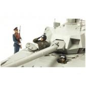 RUSSIAN PARADE TANK CREW E1/35