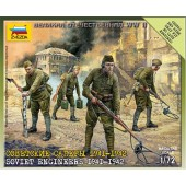 SOVIET 82mm MORTAR WITH CREW 1941-19743 E1/72