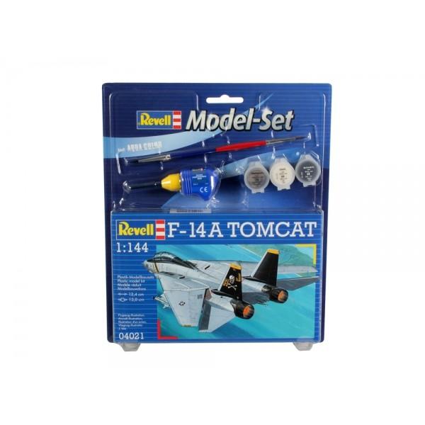 Revell 64021 Model Set caza F-14 A Tomcat